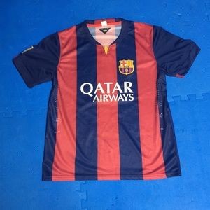 Lionel Messi Barcelona Jersey